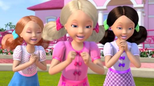 Barbie Küçük Bir Rüya Ev