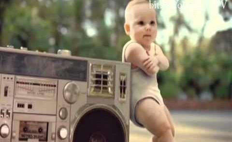 Bebeklerin Dansı