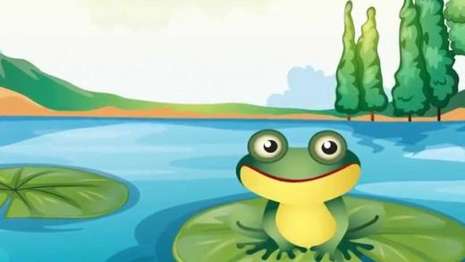 Küçük Kurbağa -Şarkı