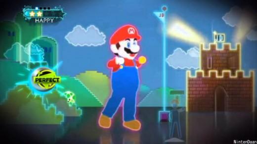 Mario Dans Ediyor